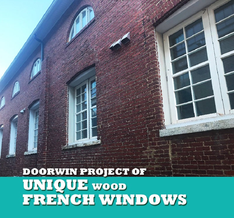 Doorwin Unique Wood French Windows