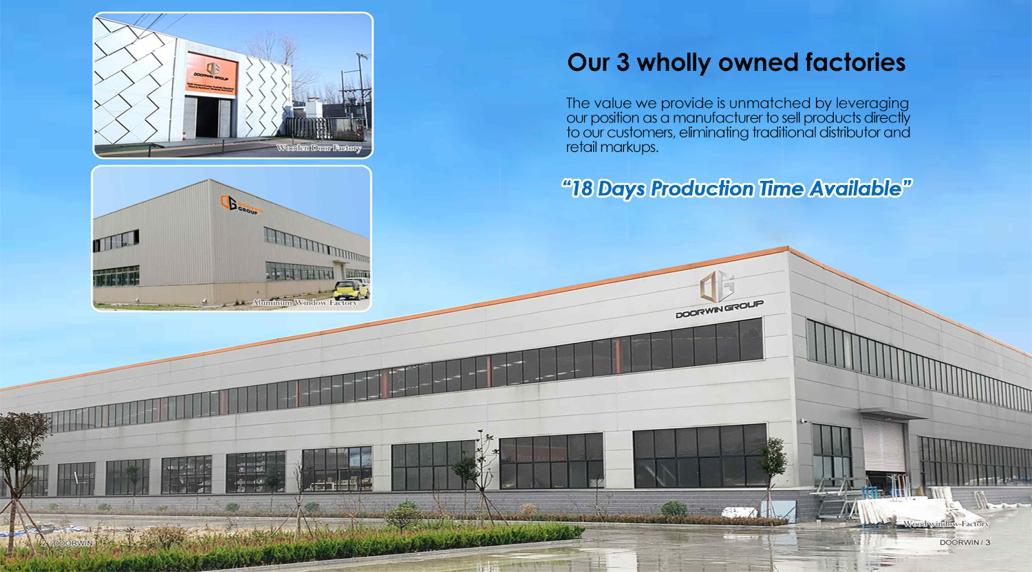 Our Factories