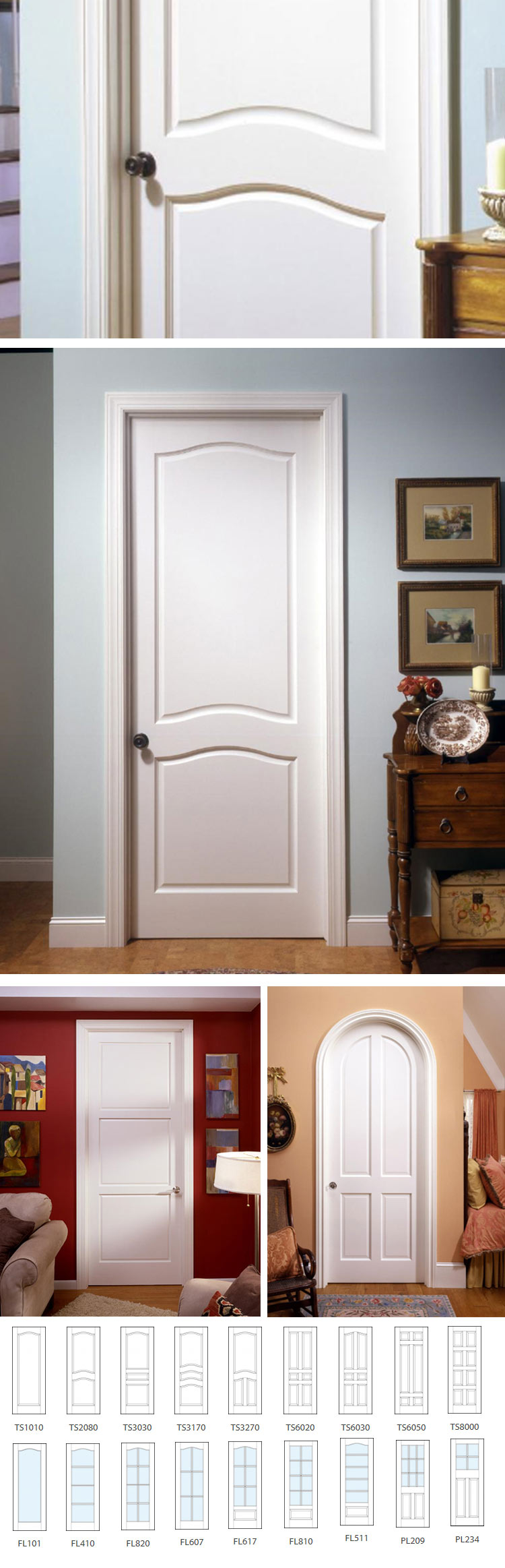 hinged interior door-22-03