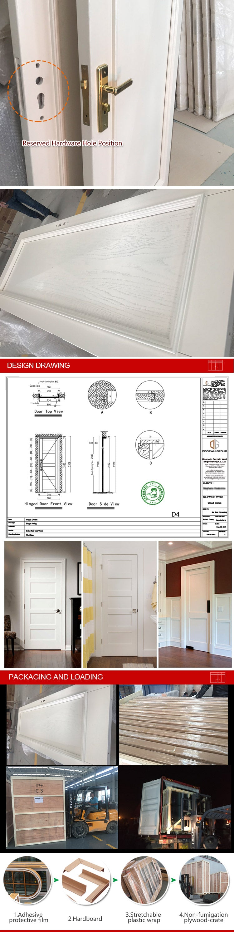 hinged interior door-21-04