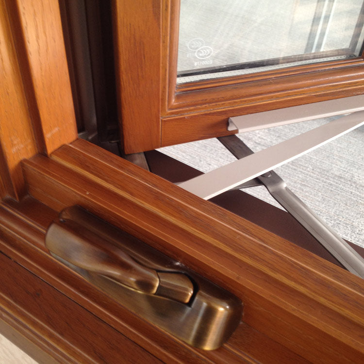 American Australian Style Foldable crank handle casement window
