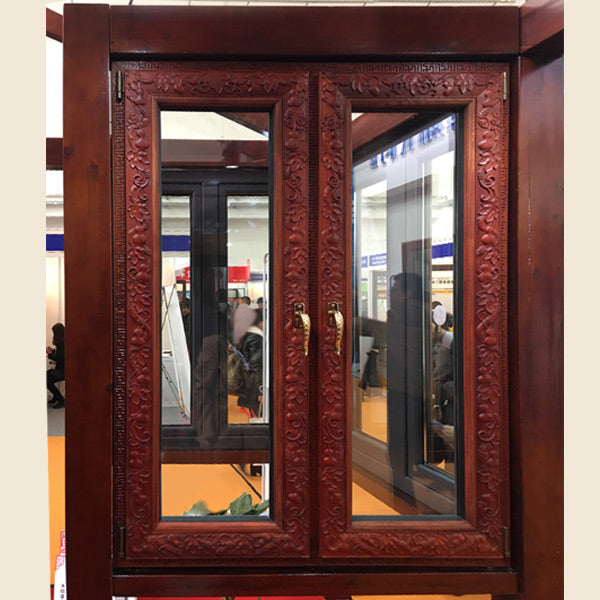 Rosewood carving French Casement Window