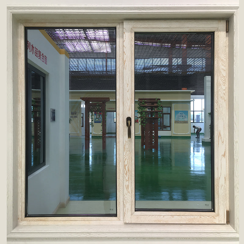 tilt turn window-thermal break aluminum with wood cladding