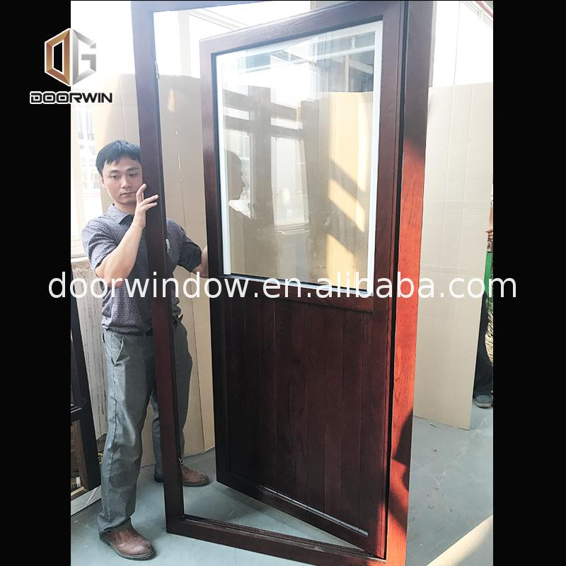 2018 hot new products country style entry doors cottage