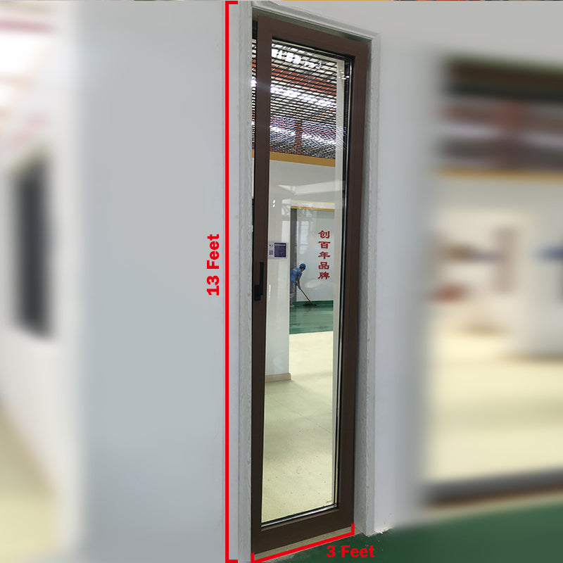 ultra high tilt turn thermal break aluminum window