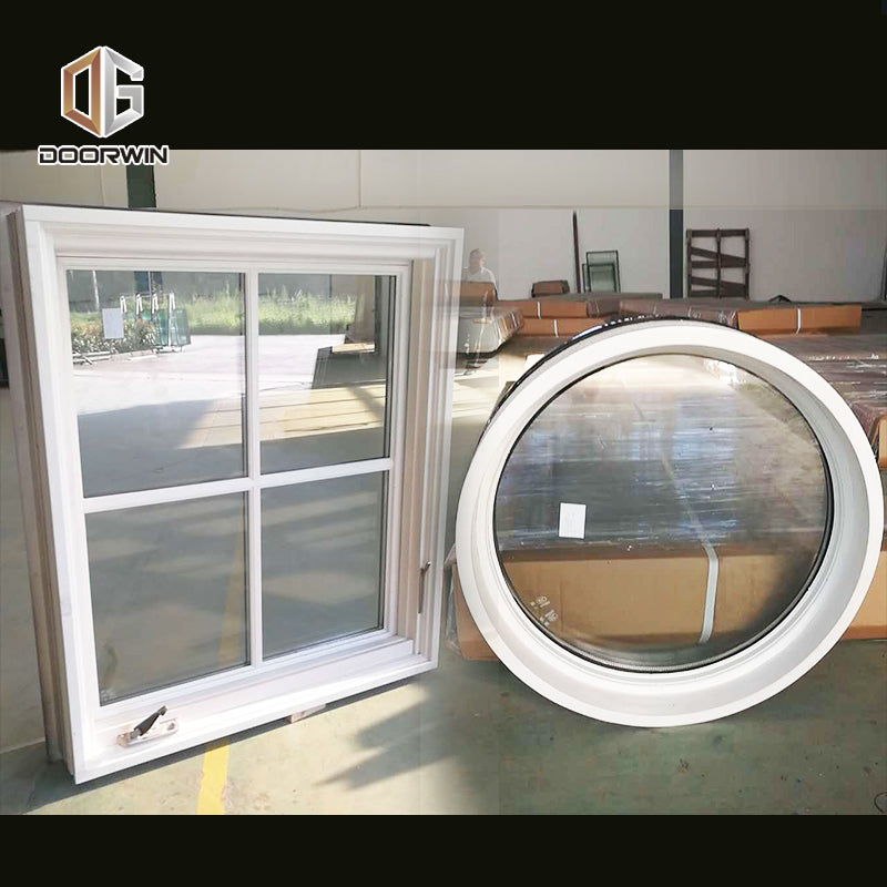 specialty shapes window-14 American style casement window with foldable crank handle