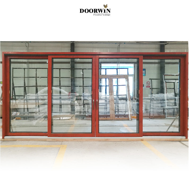 Recommended Sliding Patio Door-10 years warranty commercial aluminium wood sliding door big doors