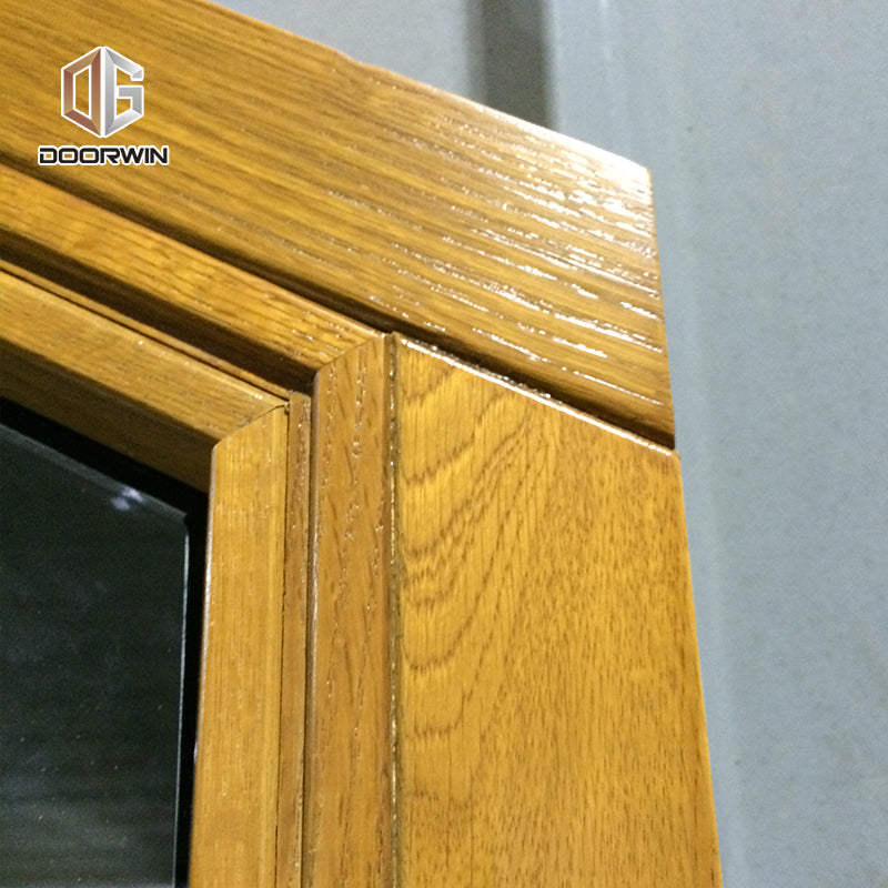 special shapes oak wood tilt turn window