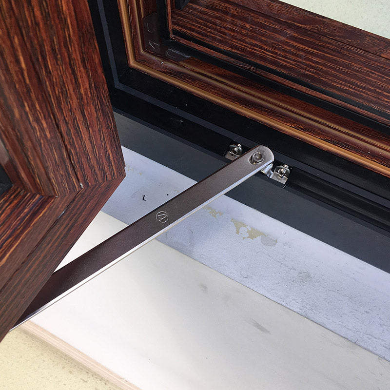 Outswing-Window-With-Wood Grain-Color-Finishing