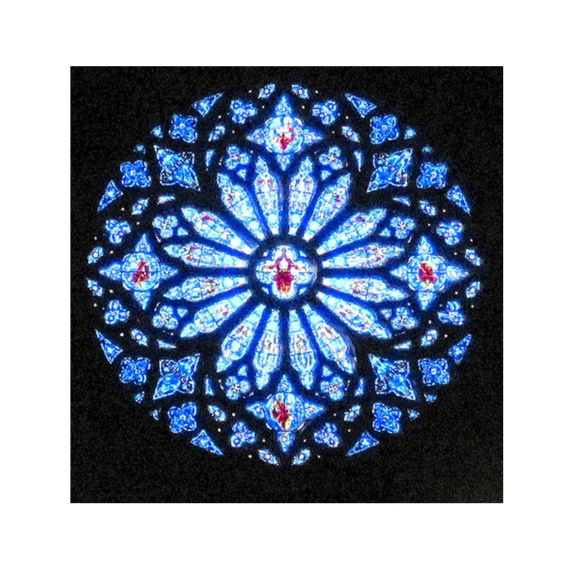 Fantastic custom stained glass church window