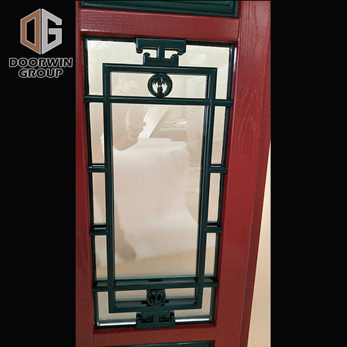 Chinese traditional style awning widnow with grille design