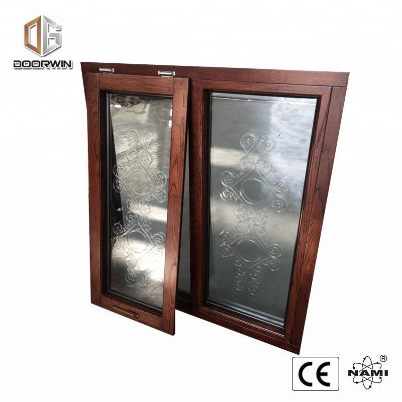 AS2047 Certified Round window photos of grills for windows old wood sale by Doorwin on Alibaba