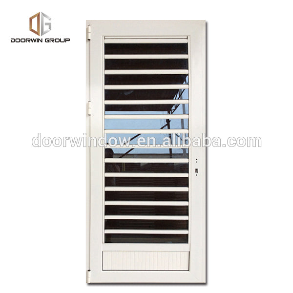 Adjustable exterior shutters acoustic louver by Doorwin on Alibaba