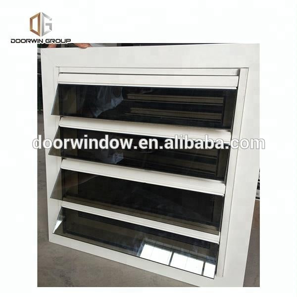 Aluminium Frame Fixed Glass Louvre by Doorwin on Alibaba