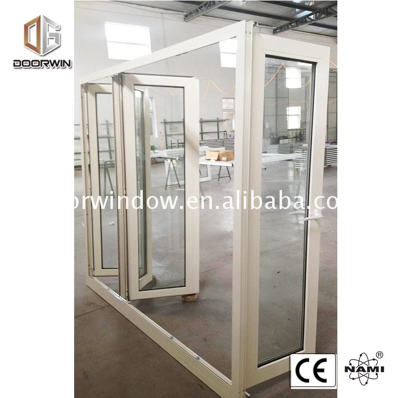 Aluminium bi fold windows and doors with netscreen b-fold african style folding window door