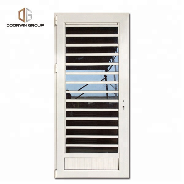 Aluminium glass louvers window doors and windows designs by Doorwin on Alibaba