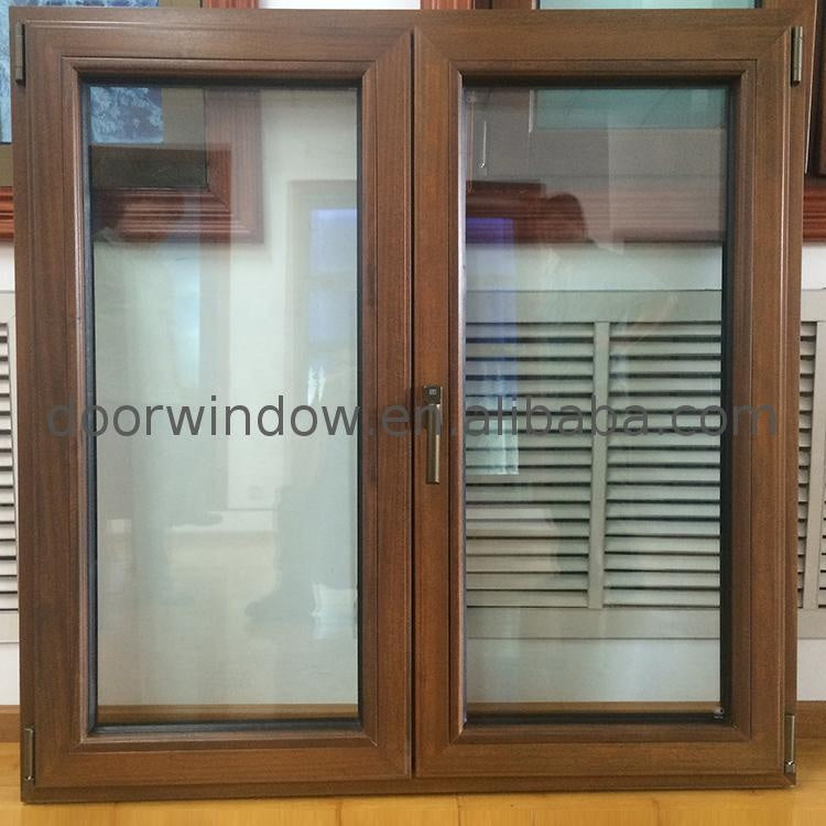 Aluminium plantation shutters casement window horizontal fixed and windows by Doorwin on Alibaba