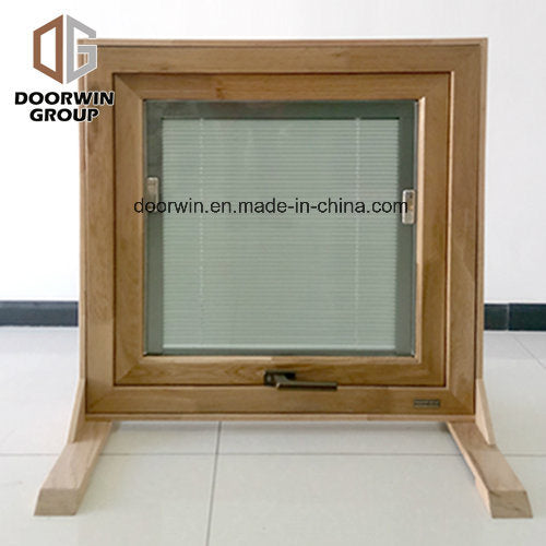 Aluminum Clad Wood Casement Window Built-in Blinds Integral Shutter Inward Opening Double Tempered Glass Window - China Aluminum Window, Wood Aluminum Window