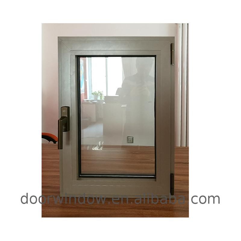 Aluminum awning window for sale aluminium glass wholesale by Doorwin