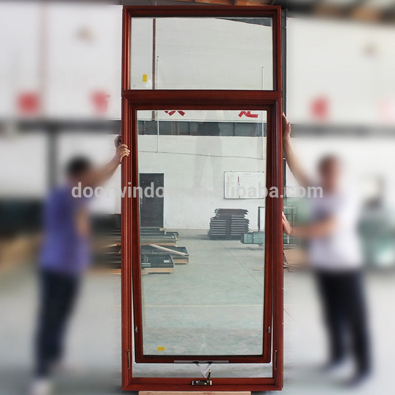 Aluminum awning window with parts by Doorwin on Alibaba