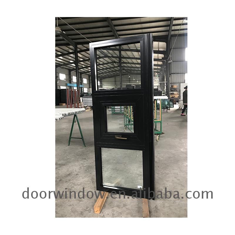 Aluminum awning windows are available window for sale aluminium white powder coatingby Doorwin
