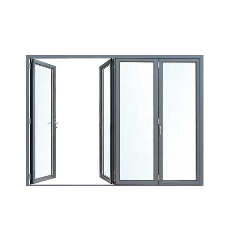 Aluminum garage door prices product framed casement frame glass swing with strong tightness