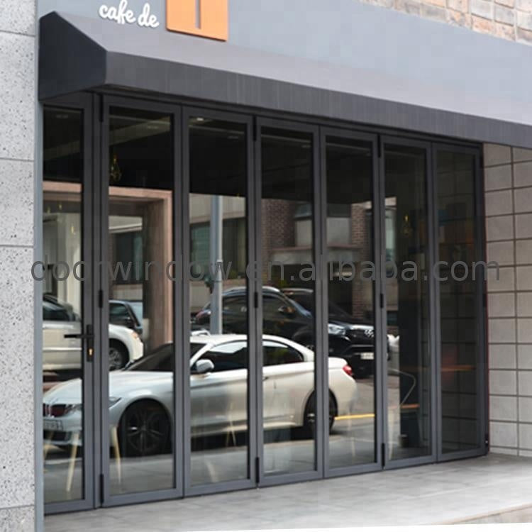 Aluminum outdoor folding door modern iron partition for banquet hall by Doorwin on Alibaba