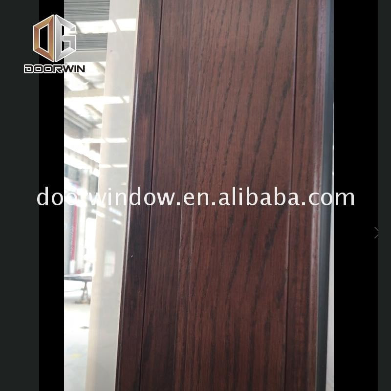 Aluminum sliding doors accordion door with toughened glazing and window