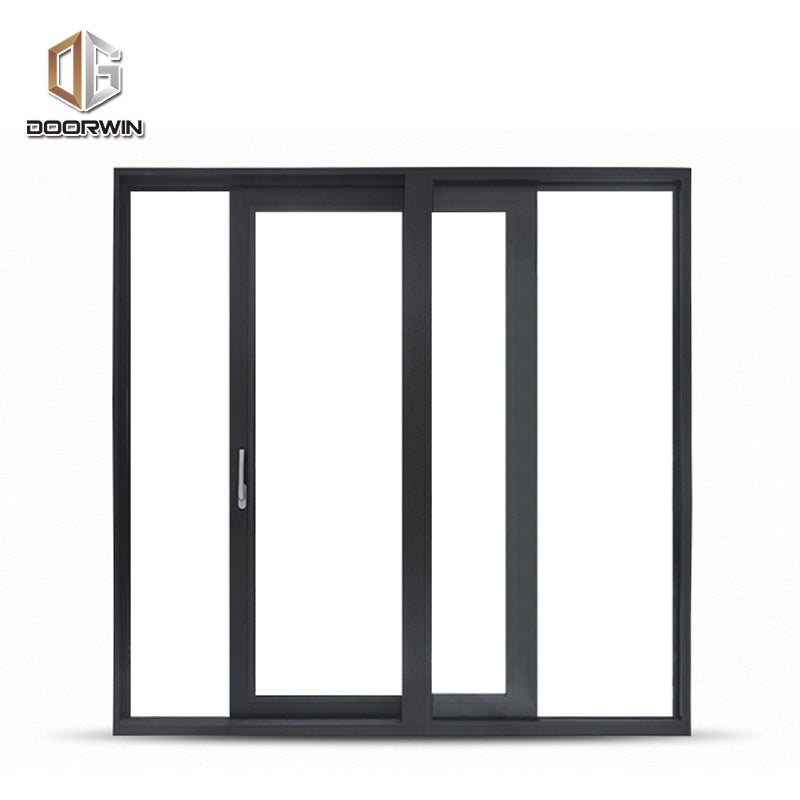 Aluminum sliding windows and doors with fly screen double tempered glass ce certificate