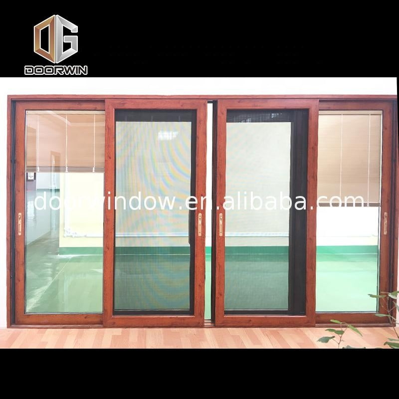 Aluminum sliding windows and doors with triple tempered glass laminated glazing