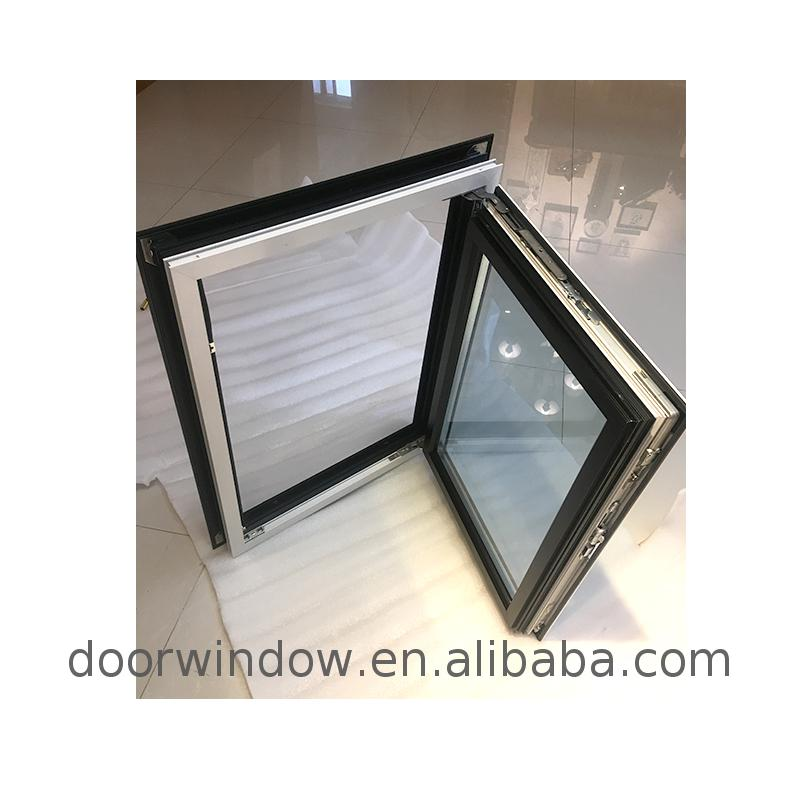 Aluminum window with grill design price manufacturer