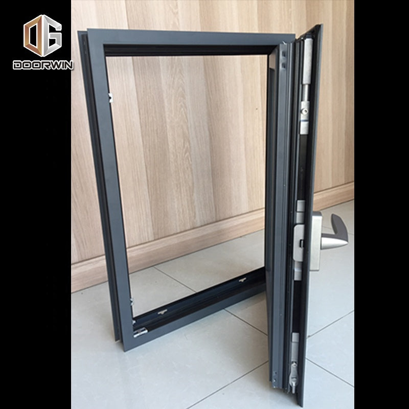 Aluminum with tempered glass window and door obscure wholesale