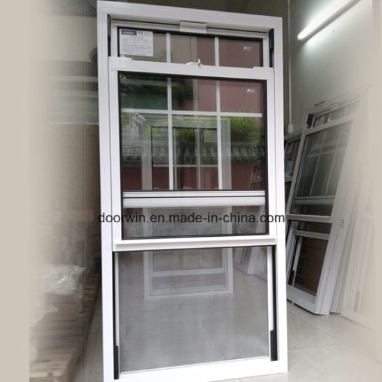 American Single Hung Thermal Break Aluminum Double Hung Sliding Sash Window - China Double  Hung  Window, Slide  up  Windows