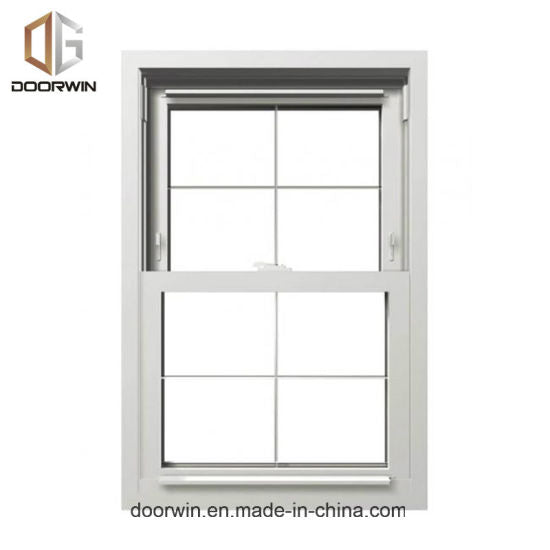 American Single Hung Thermal Break Aluminum Window, Double Hung Window, Sliding Sash Window - China White Glass Window and Door, White Window