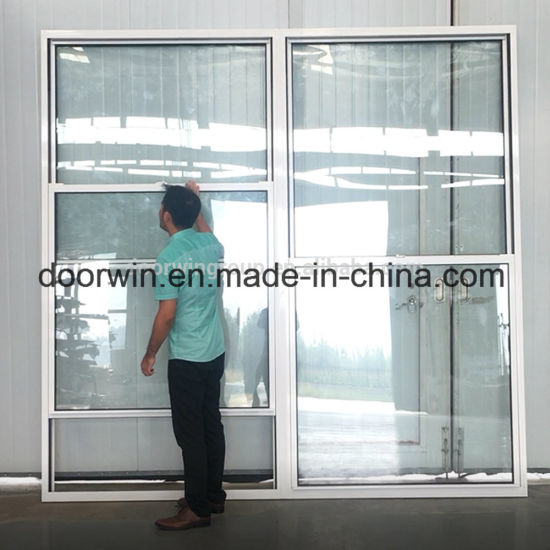American Single Hung Thermal Break Aluminum Window, Double Hung Window, Sliding Sash Windowdouble Glazed Glasses - China Double Hung Sliding Window, Aluminum Window
