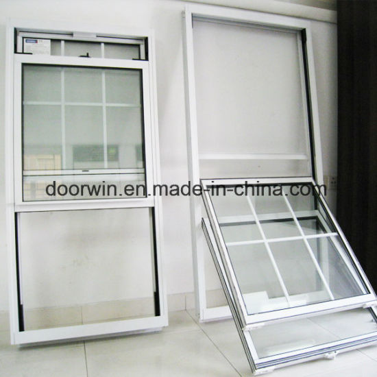 American Single Hung Thermal Break Aluminum Window, Double Hung Window - China Aluminum Double Hung Window, Double Hung Window Frame