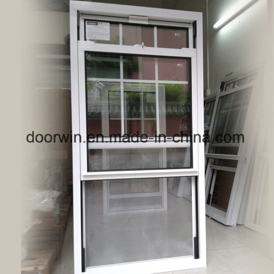 American Thermal Break Aluminum Single and Double Hung Glass Window with Grilles Design - China American Thermal Break Aluminum Window, Single Hung Glass Window