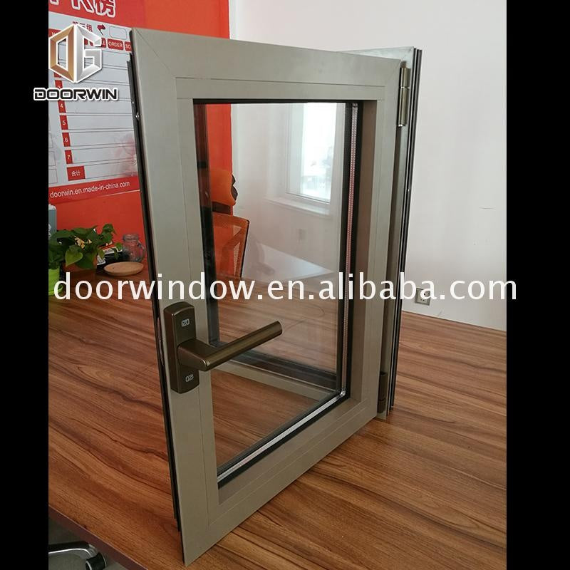 American standard aluminium tilt and turn casement window hardware aluminum profile frame