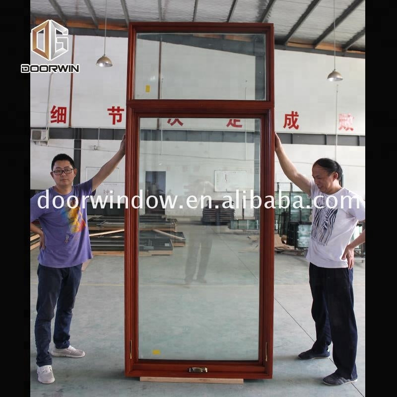 American style casement window with crank handle wooden sash profiles profiles for doors and windows by Doorwin on Alibaba