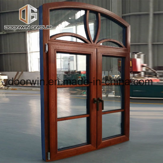 Arch Window with Grid Grill Design - China Arched Windows, Round Window for Sale