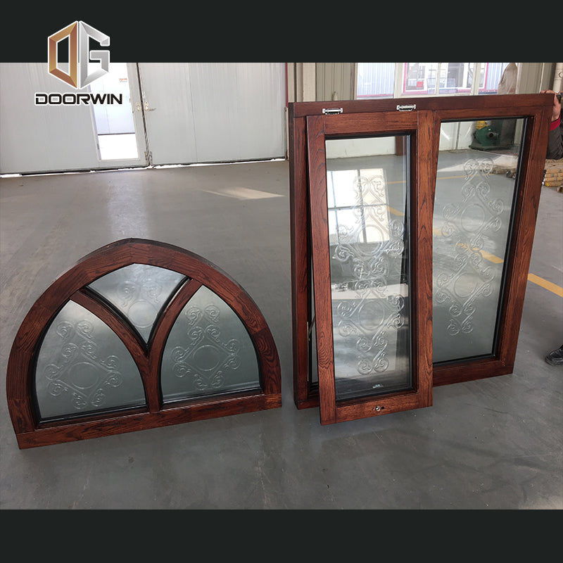 Arch window aluminum aluminium windows catalogue by Doorwin on Alibaba