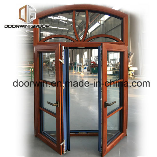 Arched Thermal Break Aluminum Window with Grill Design - China Fixed Round Window, Screen Window
