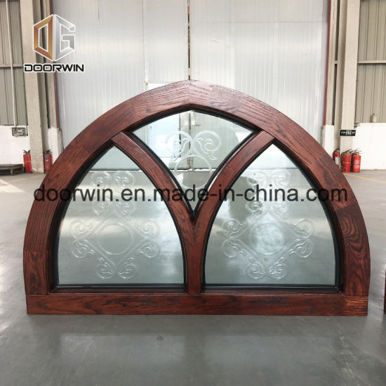Arched Windows Arch Window Grill Design - China New Design Surface Finished Windows