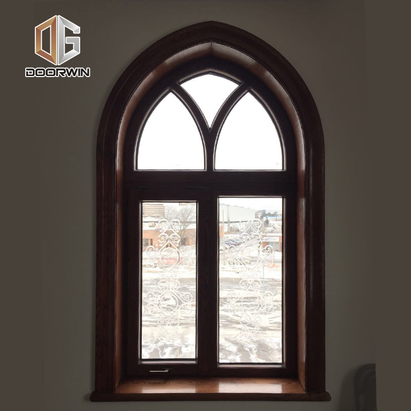 Arched wood window arch windows circular