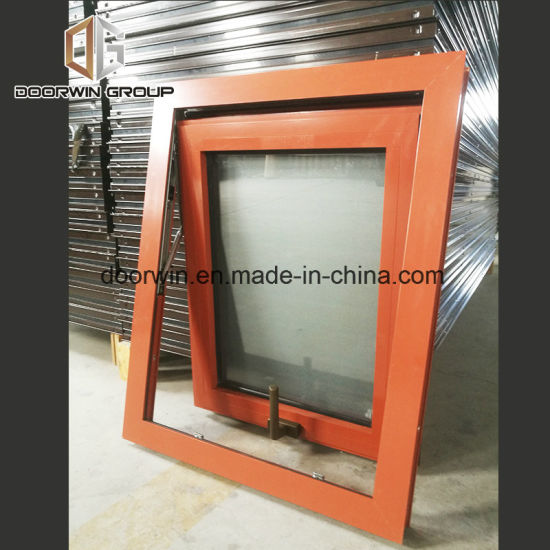 Awning Window with Glass - China Residential Aluminum Casement Windows, Alu Metal Windows