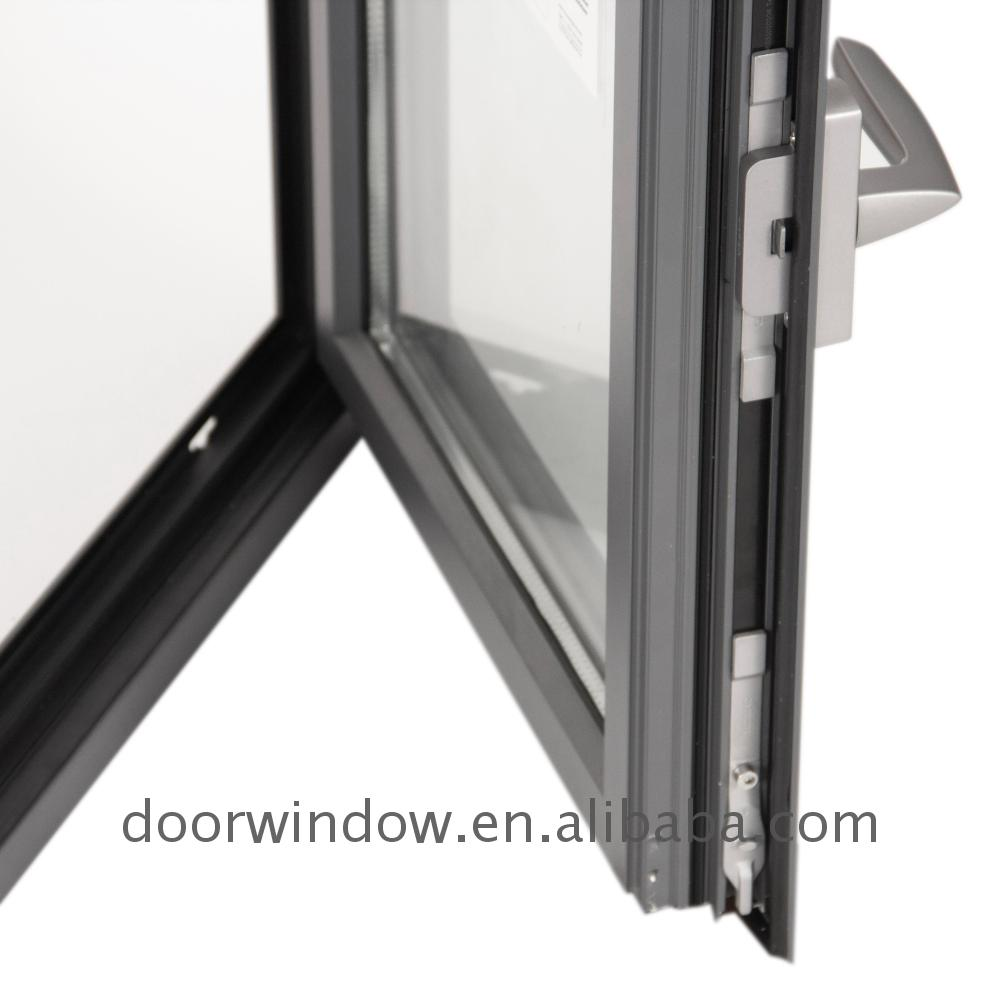 Awning window american grill design aluminum tilt & turn