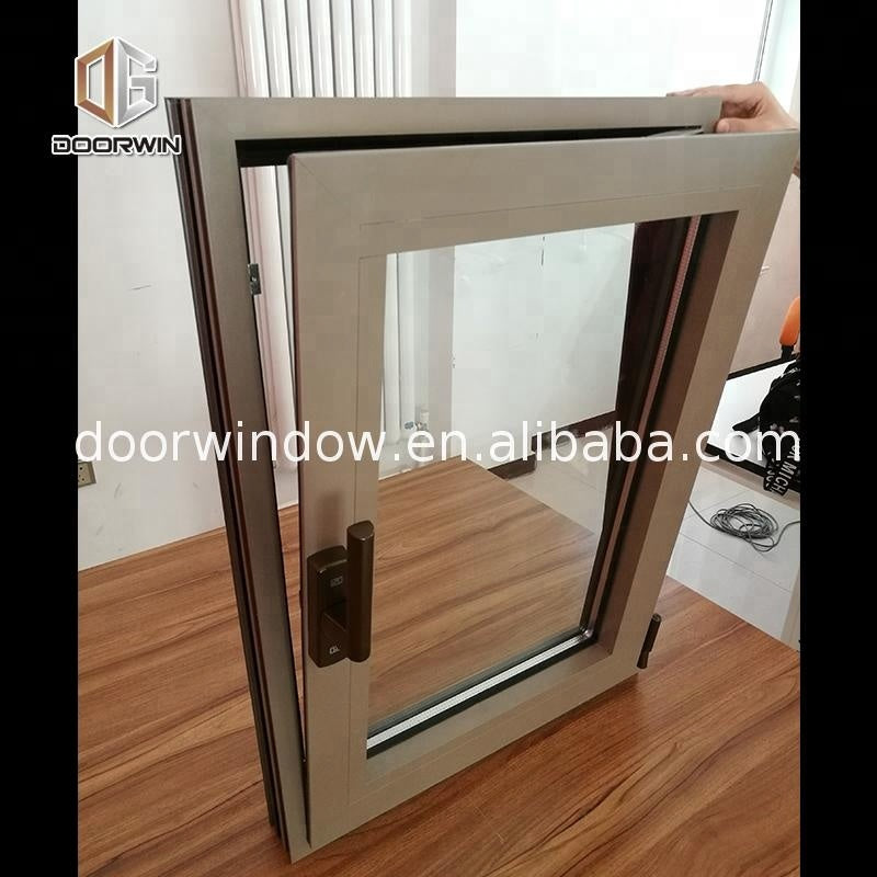 Balcony aluminium tilt and turn window