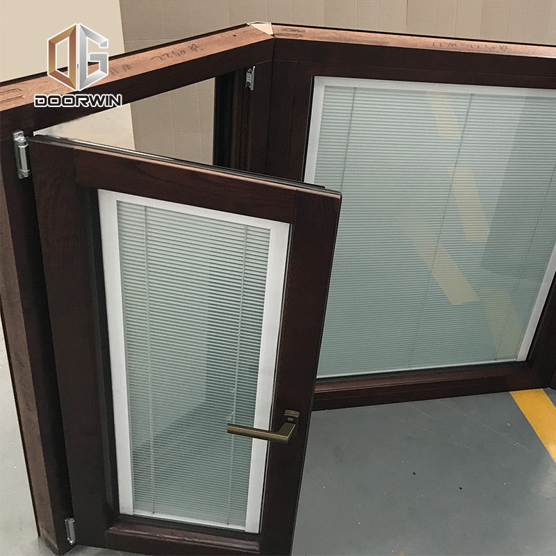 Doorwin Wood Bay & Bow Windows With Built-in Shutter