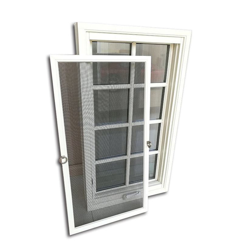 Beautiful window grill design awning crank style