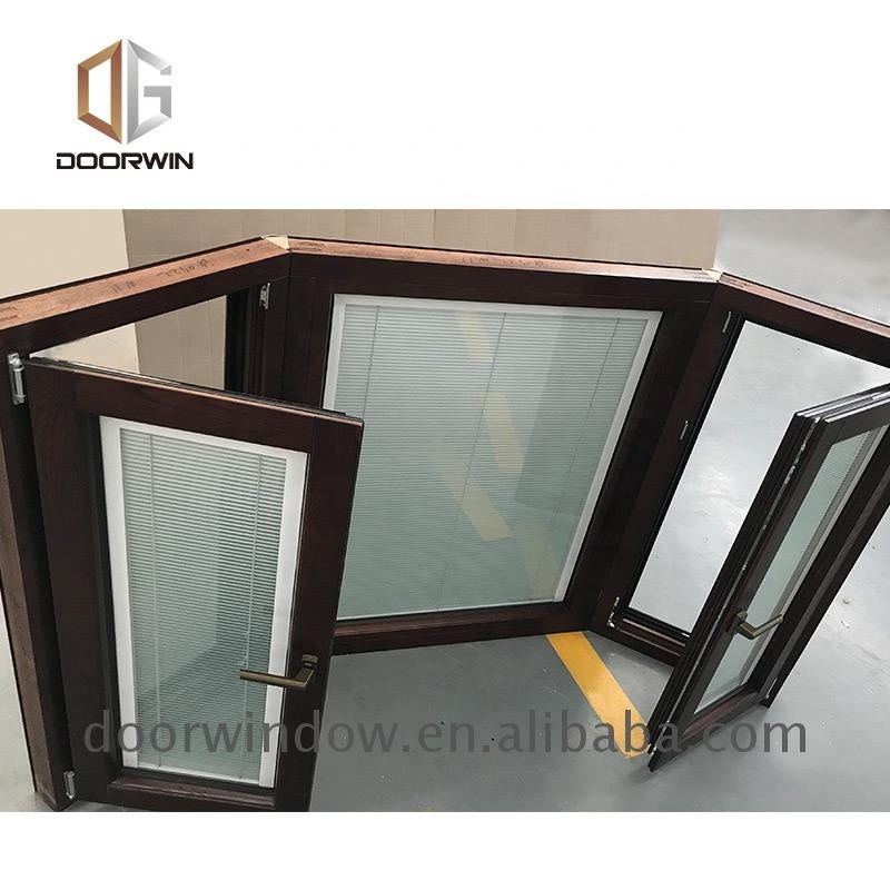 Best quality wooden frames casement windows with Low-E Glass